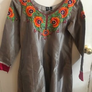 Very awesome Raw silk dress